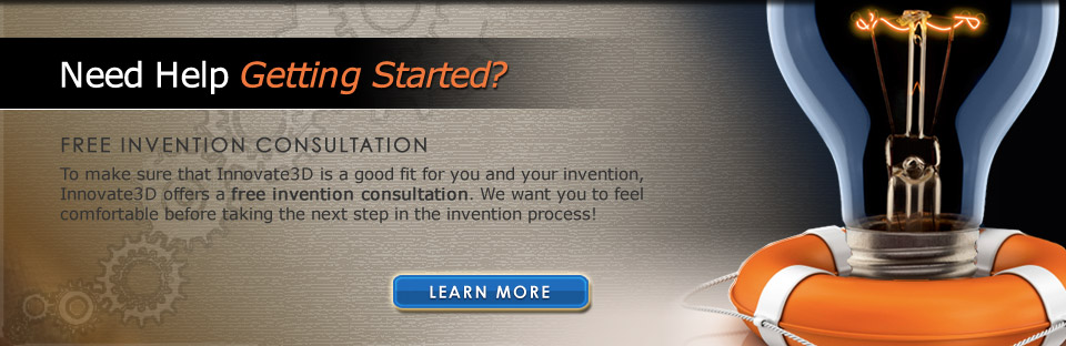 Innovate3D Offers a Free Invention Consultation