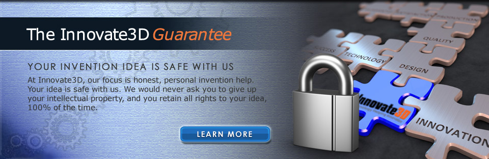 Your Invention Idea is Safe with Innovate3D