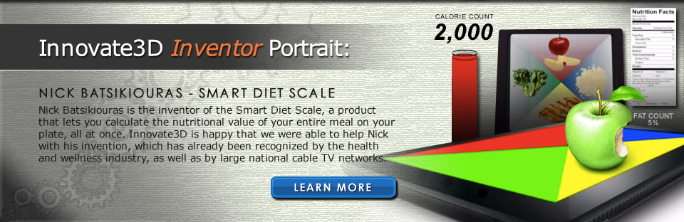 Innovate3D Inventor Portrait: Nick Batsikiouras - Smart Diet Scale